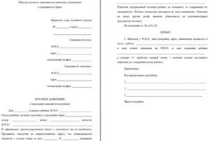Заявление на алименты в мировой суд образец 2020 бланк гражданский брак