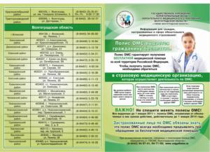 Перечень бесплатных медицинских услуг по полису омс 2020 стоматология