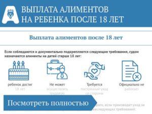 До какого срока платят алименты на ребенка в беларуси если ребенокк учится в вузе