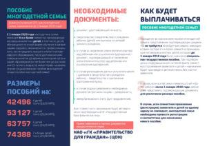Адресная помощь в беларуси в 2020 году многодетным семьям
