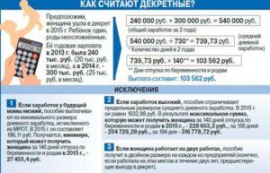 Декретные выплаты в 2020 подлежат налогообложению