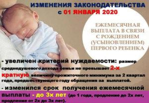 Выплаты при рождении второго ребенка в 2020 в воронеже