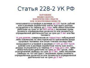 228 часть 2 смягчение 2020