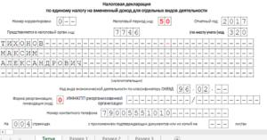 Образец заполнения декларации по усн доходы при закрытии ип в марте 2020 года