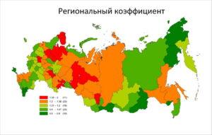 Иркутская область какой северный коэффициент