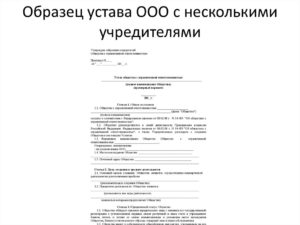 Устав ано образование образец 2020