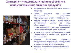 Нормы сэс для продуктового магазина 2020 краснодар