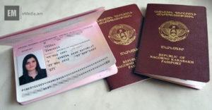 Во сколько лет ребенок в армении получает паспорт