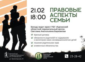 Актуальные вопросы семейного права 2020