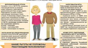 Что положено пенсионерам в москве