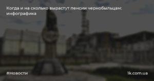 Пенсия в чернобыльской зоне липецкая область 2020