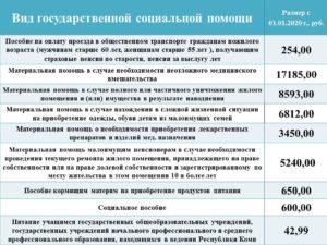 Какая семья считается малоимущей в 2020 в москве
