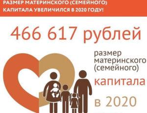 Добавка к материнскому капиталу в 2020 году