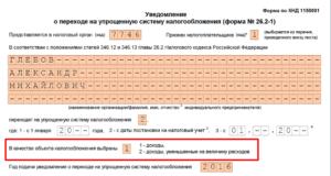В какую налоговую подать уведомление по усн при регистрации ип в санкт-петербурге в 2020