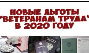 Льготы Работающим Ветеранам Труда В 2020 Году В Московской Области