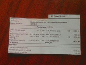 Зарплата медсестры детского сада в сельской местности 2020 крым