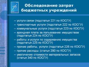 Косгу 221 в 2020