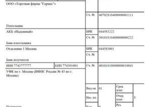 Образец заполнения платежки в пфр на уплаты штрафа за несвоевременную оплату сзв м