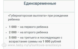 Губернаторские выплаты при рождении ребенка в ярославской области 2020