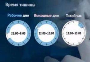 Время тишины в москве