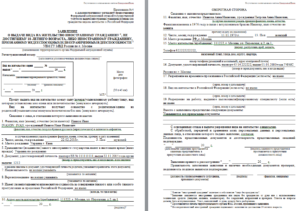 Образец заполнения заявления на гражданство рф 2020 по браку