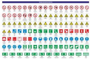 Знаки пожарной безопасности косгу в 2020 году