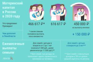 Выплаты при рождении четвертого ребенка в 2020 году