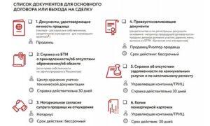 Перечень документов для сделки с недвижимостью в 2020 году