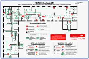 План эвакуации косгу 2020