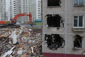 Снос пятиэтажек по программе реновации свежие новости