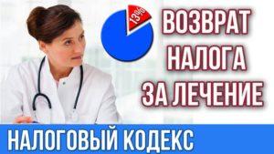 Вычет на медицинские услуги стоматология