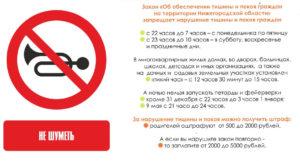 Закон тишины в омске 2020