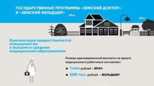 Государственная программа земский фельдшер 2020