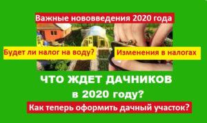 Новый закон о снт с 1 января 2020 года текст