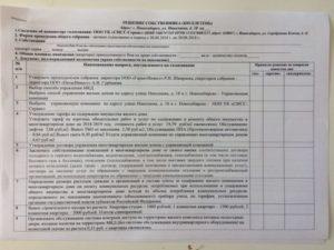 Образец бюллетеня для голосования на общем собрании собственников в тсж 2020