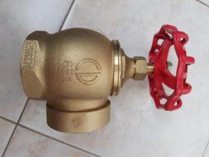 Кран пожарного водопровода косгу в 2020
