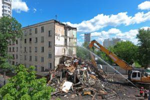 В каком районе москвы будут снасится дома под реновацыи