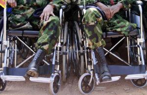Инвалиды военной травмы в 2020 году