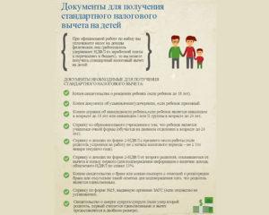 Вычет на детей документы