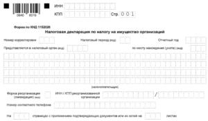 Декларация по н имуществе 1 кв 2020   код вида имущества
