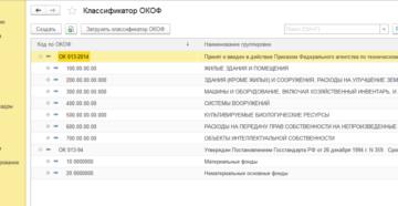 Окоф 2020 для бюджетных организаций с расшифровкой и группой